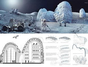 Polka współautorką zwycięskiego projektu kolonii na księżycu