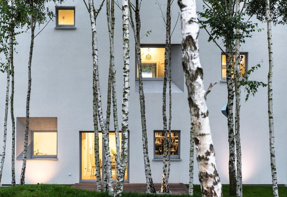 Sun Garden - energooszczędny dom projektu Menthol Architects